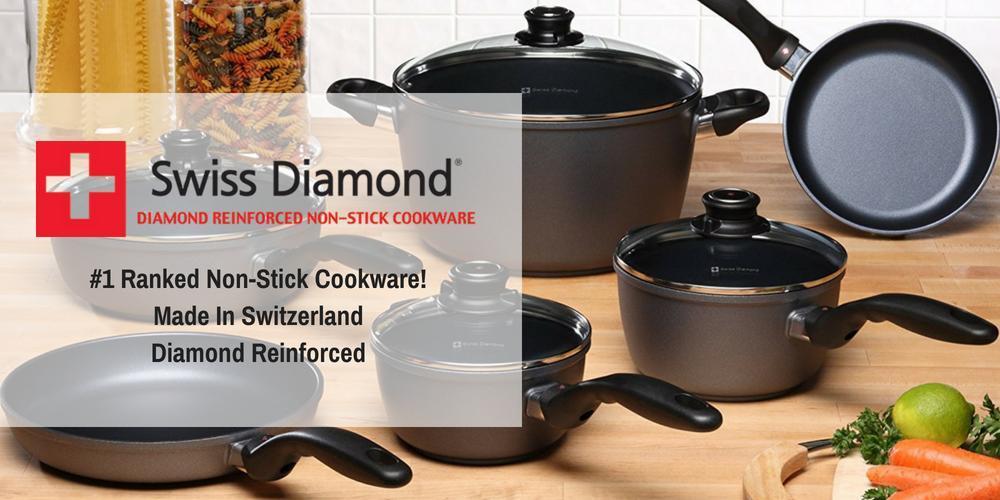Shop Swiss Diamond Cookware