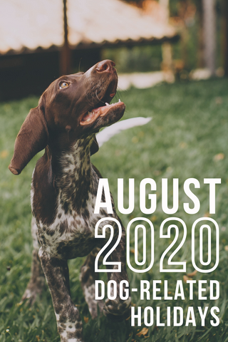 august 2020 dog related holidays