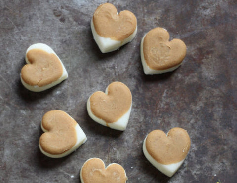 easy frozen dog treats for valentines day