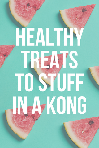 healthy foods to stuff in a kong