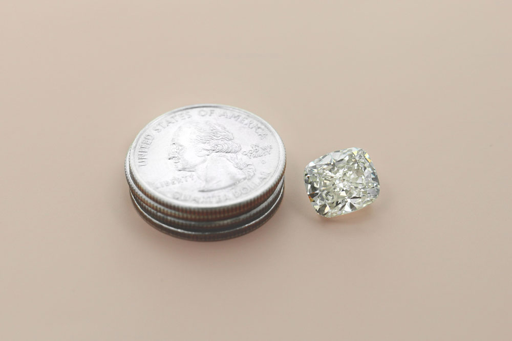 6.28 carat Lab-grown Diamond