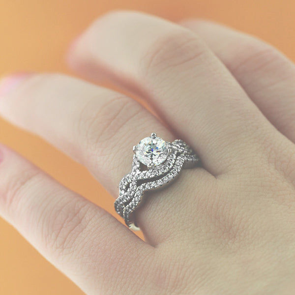 Infinity Wedding Set