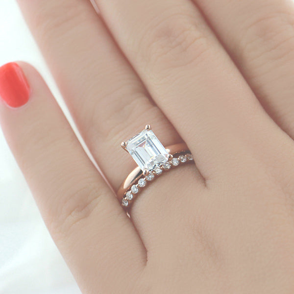 set sets bridal petite prong gold earth shared ring brilliant jewellery white wedding