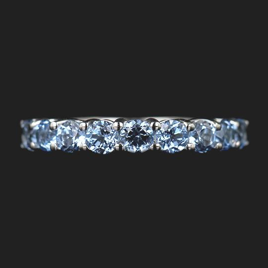 Last Minute Gift Idea Aquamarine Band