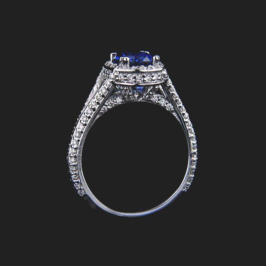 Empress Antique Engagement Ring