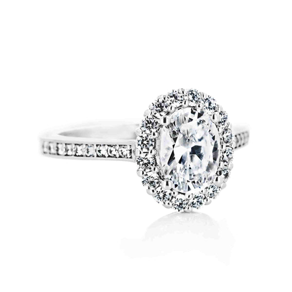 Celeste Vintage Engagement Ring