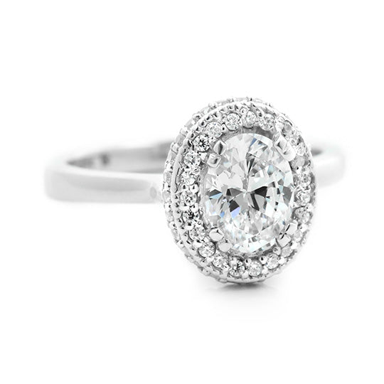 Chantilly Stackable Engagement Ring
