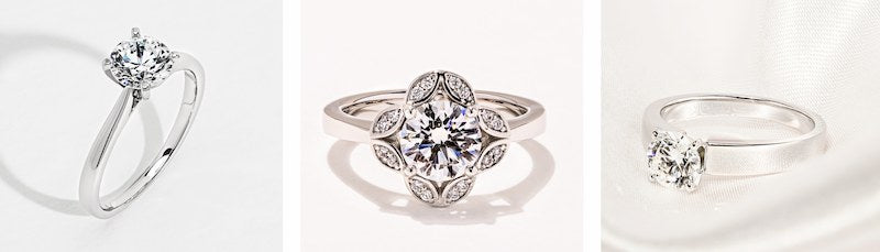 Save on an engagement ring and Diamond Hybrids