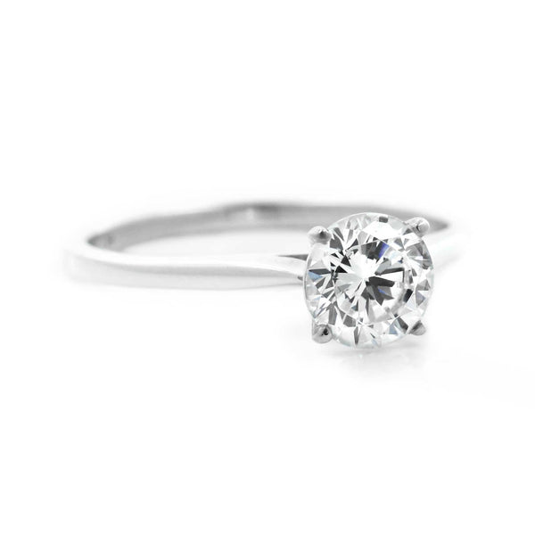 Dior Solitaire Engagement Ring