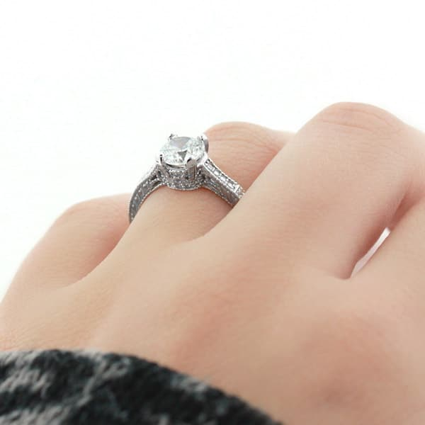 Ella Antique Engagement Ring