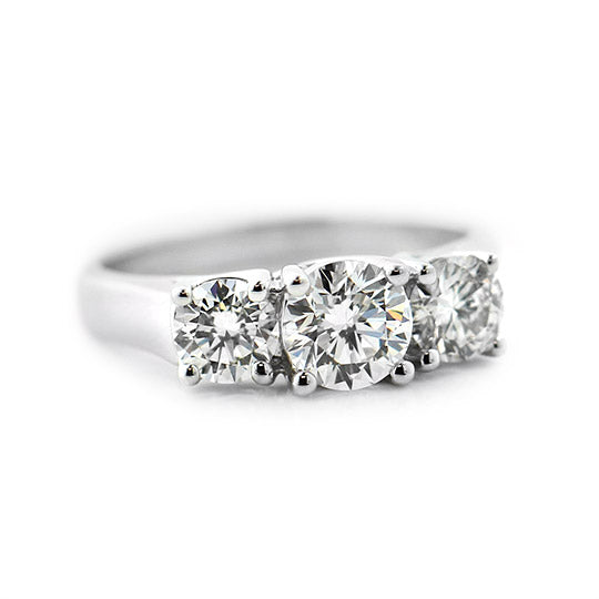 Ellise Three Stone Ring