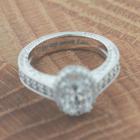 Engagement Ring Engraving