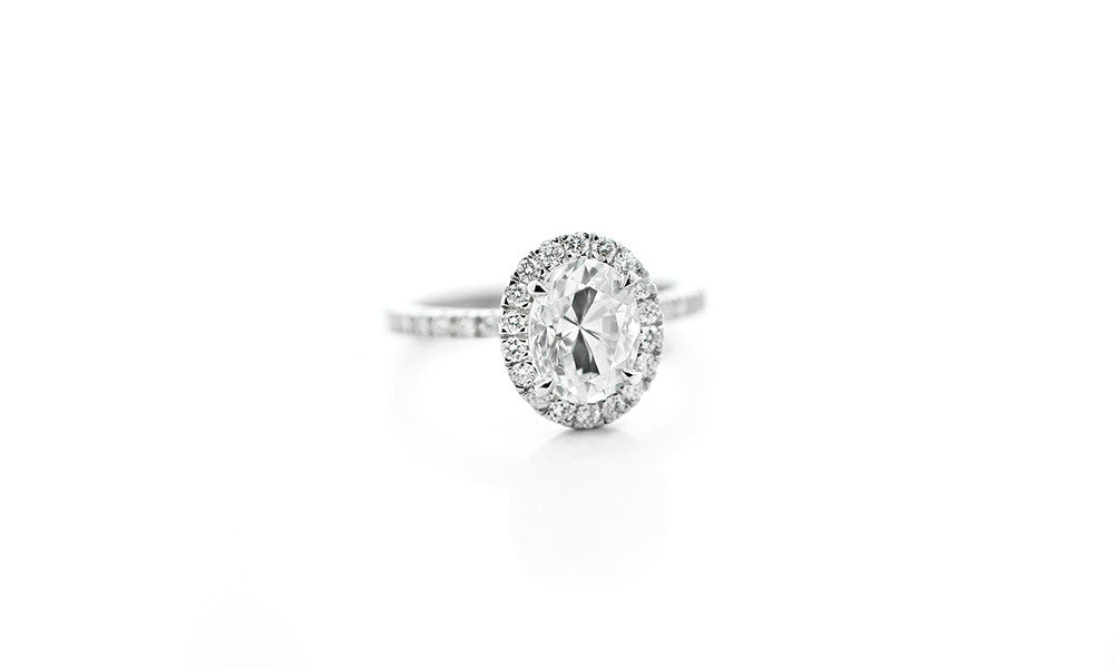 Glisten Engagement Ring