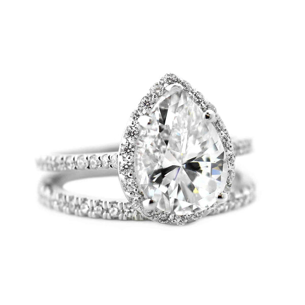 Heroine Accented Engagement Ring