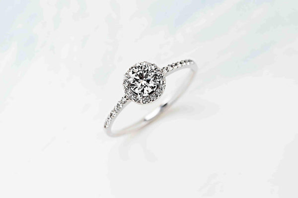 Jazzy Engagement Ring