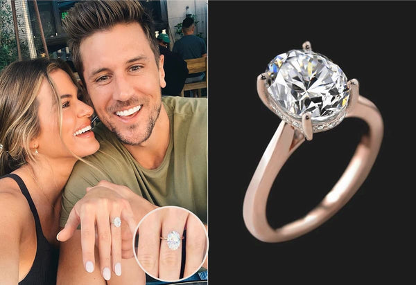 JoJo Fletcher Jordan Rodgers Engagement Ring