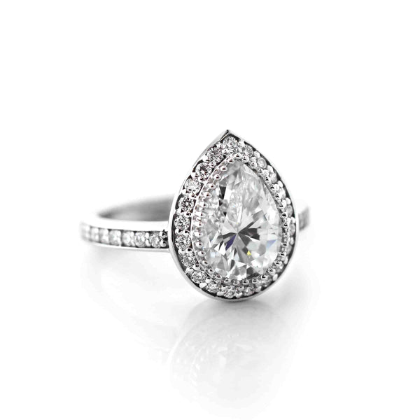 Katherine Accented Engagement Ring