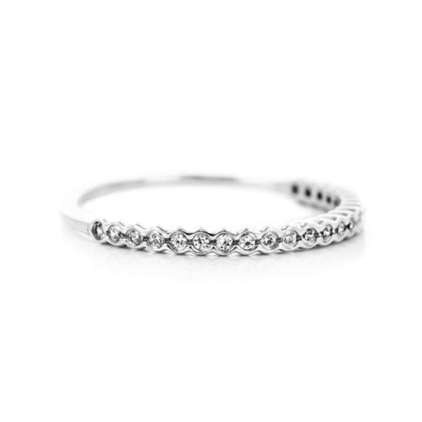 Lace Stackable Wedding Band