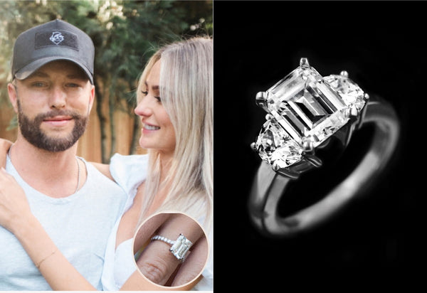 Lauren Bushnell Chris Lane Engagement