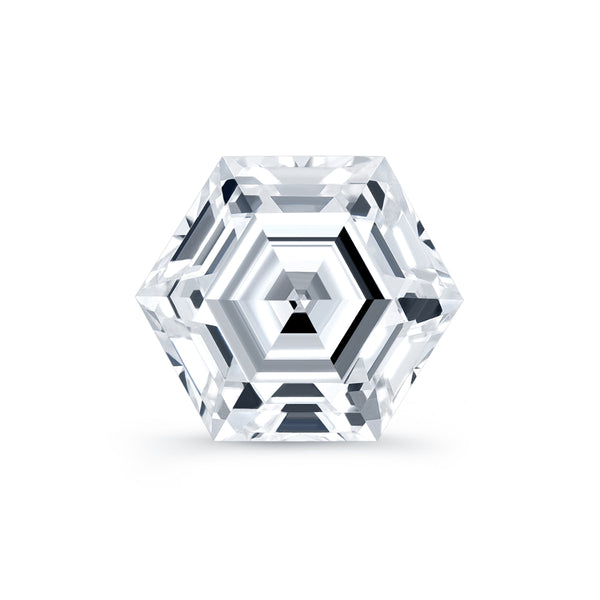 Hexagonal Lab Grown Diamond