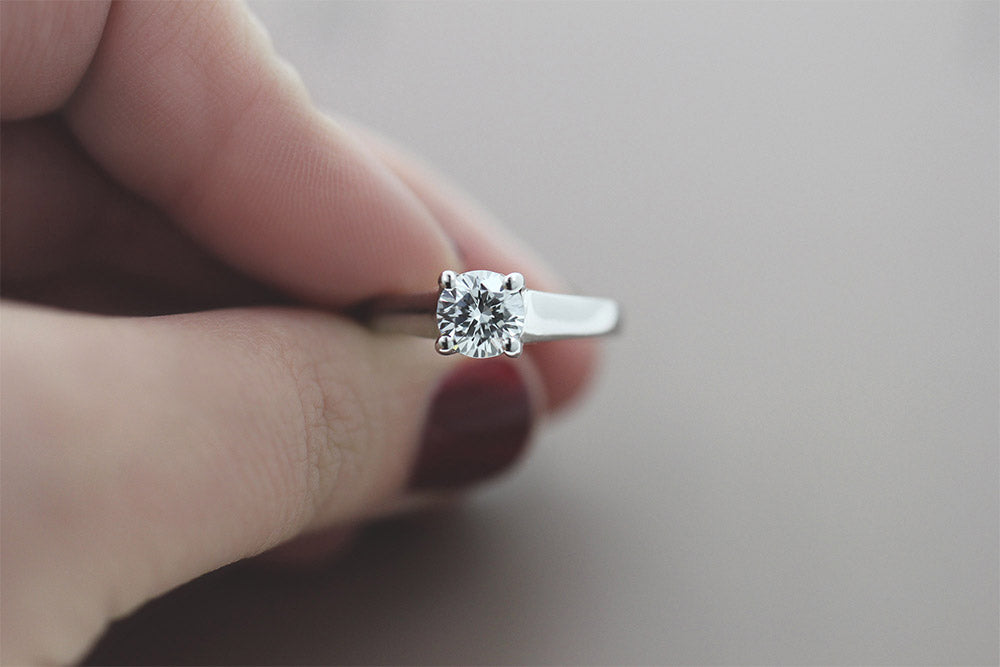 Lucy Solitaire Engagement Ring