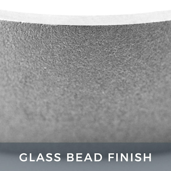 Glass Bead Finish Men's Band
