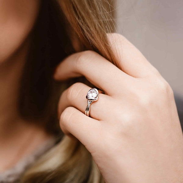 Mod Solitaire Engagement Ring