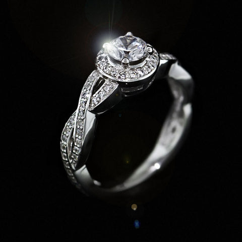 infinity princess women symbol rings ring for product unlimited bands jewelry band from rhinestone shuodianjewelry wedding cut engagement