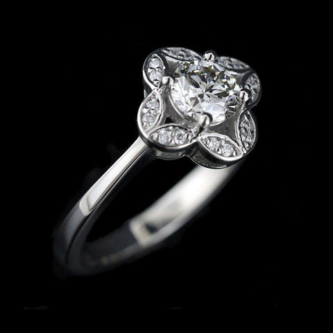 Grace Antique Engagement Ring