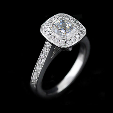 Luxury Antique Engagement Ring