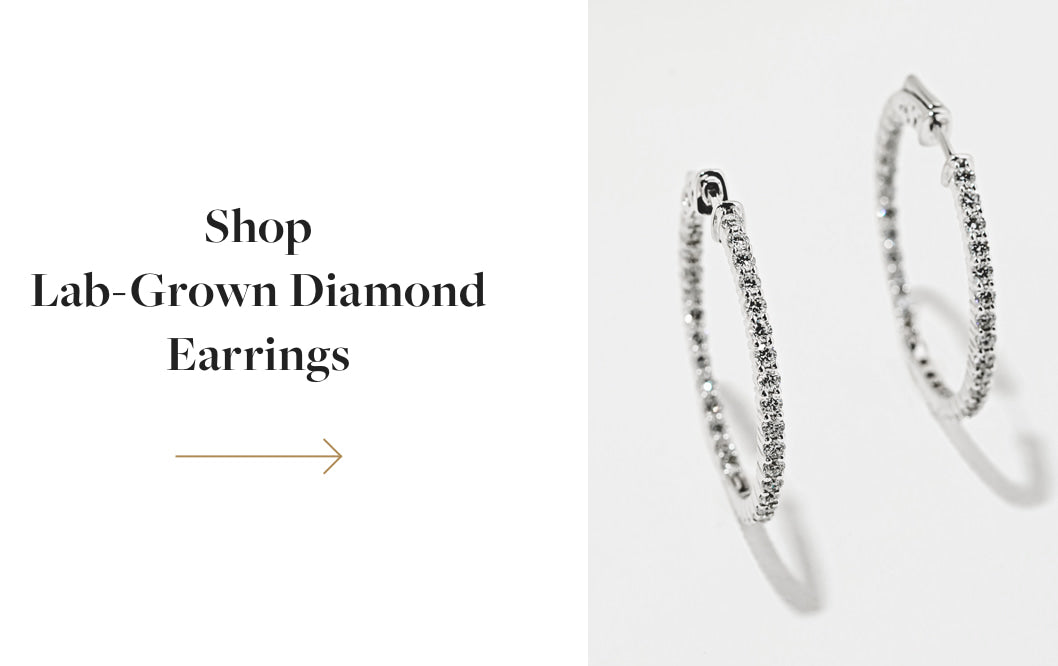 Shop Lab Grown Diamond Earrings
