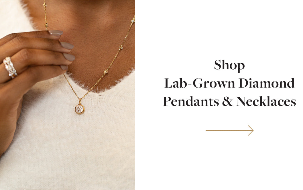 Shop Lab-Grown Diamond Pendants & Necklaces