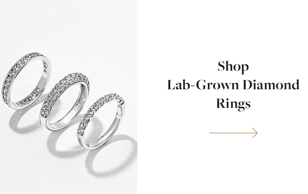 Shop Lab Grown Diamond Rings