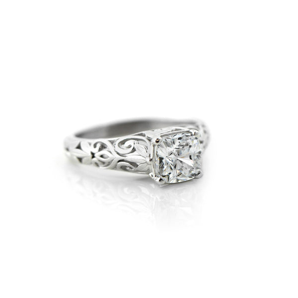 Tory Solitaire Engagement Ring
