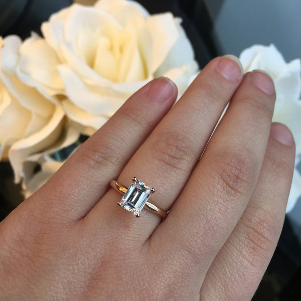 Traditional Engagement Ring with 2.0ct Lab-Grown Diamond