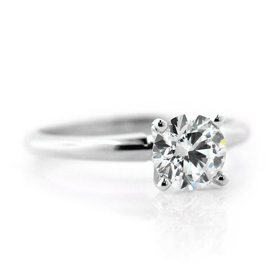 Traditional Solitaire Engagement Ring
