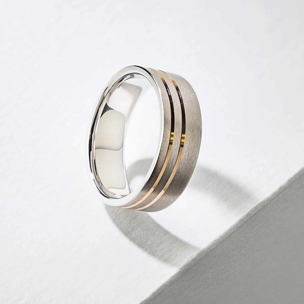 Vale Men's Wedding Band