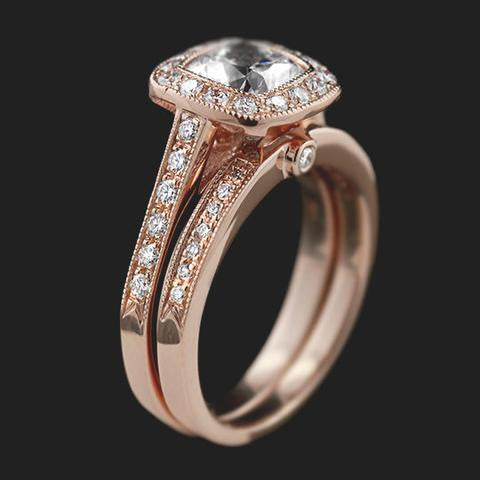 Rose Gold Vintage wedding sets