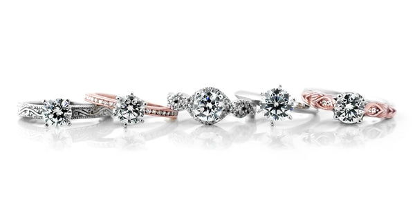 1.0ct Engagement Rings by MiaDonna