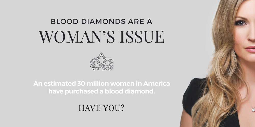 Blood Diamonds are a woman's issue - Anna-Mieke Anderson