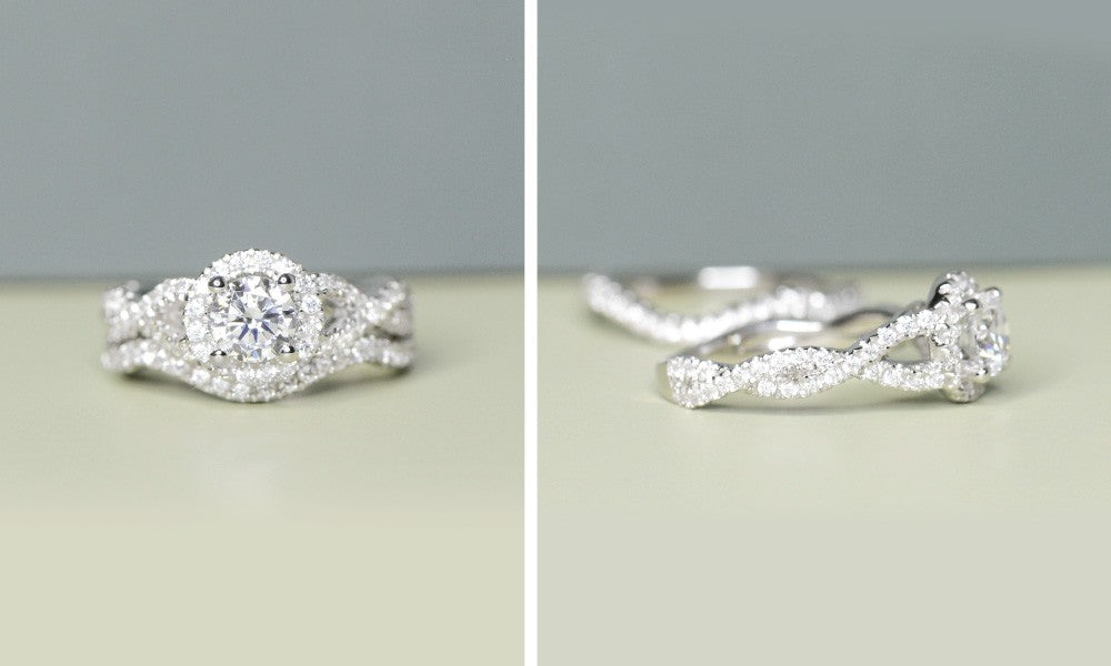 Wonder Two Tone Wedding Set