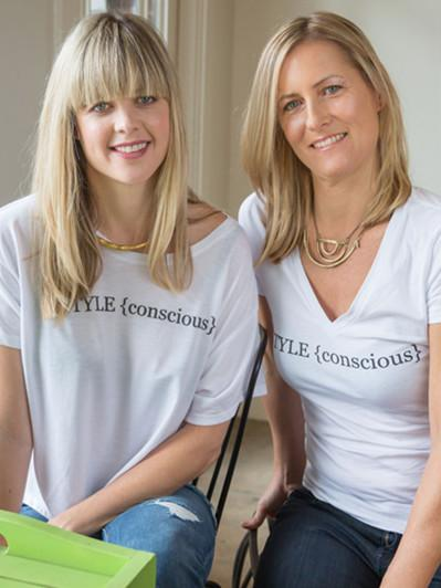 Justine Lassoff and Katie Bogue Miller, Founders of Love Goodly