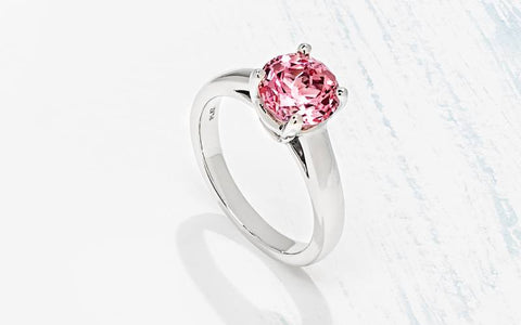 affordable Gemstone Engagement Ring