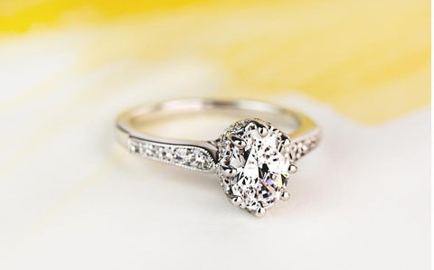 affordable diamond engagement ring