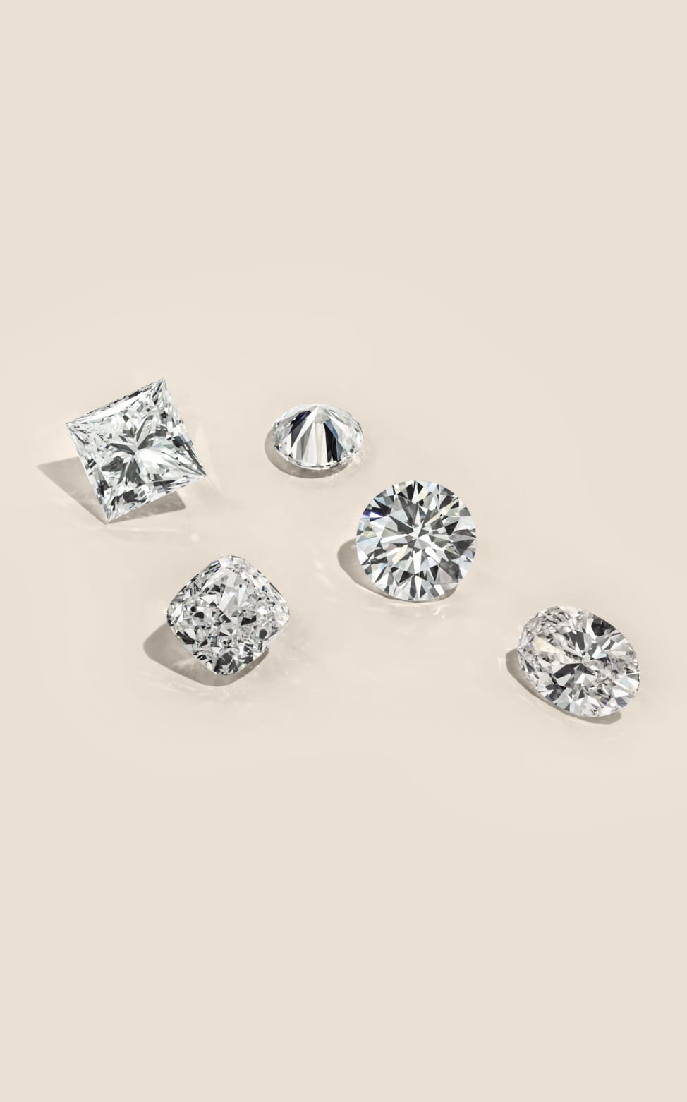Shop loose lab grown diamonds