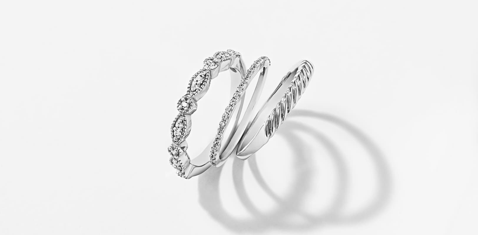 Stackable Wedding Bands.Stackable Wedding Bands And Rings Miadonna