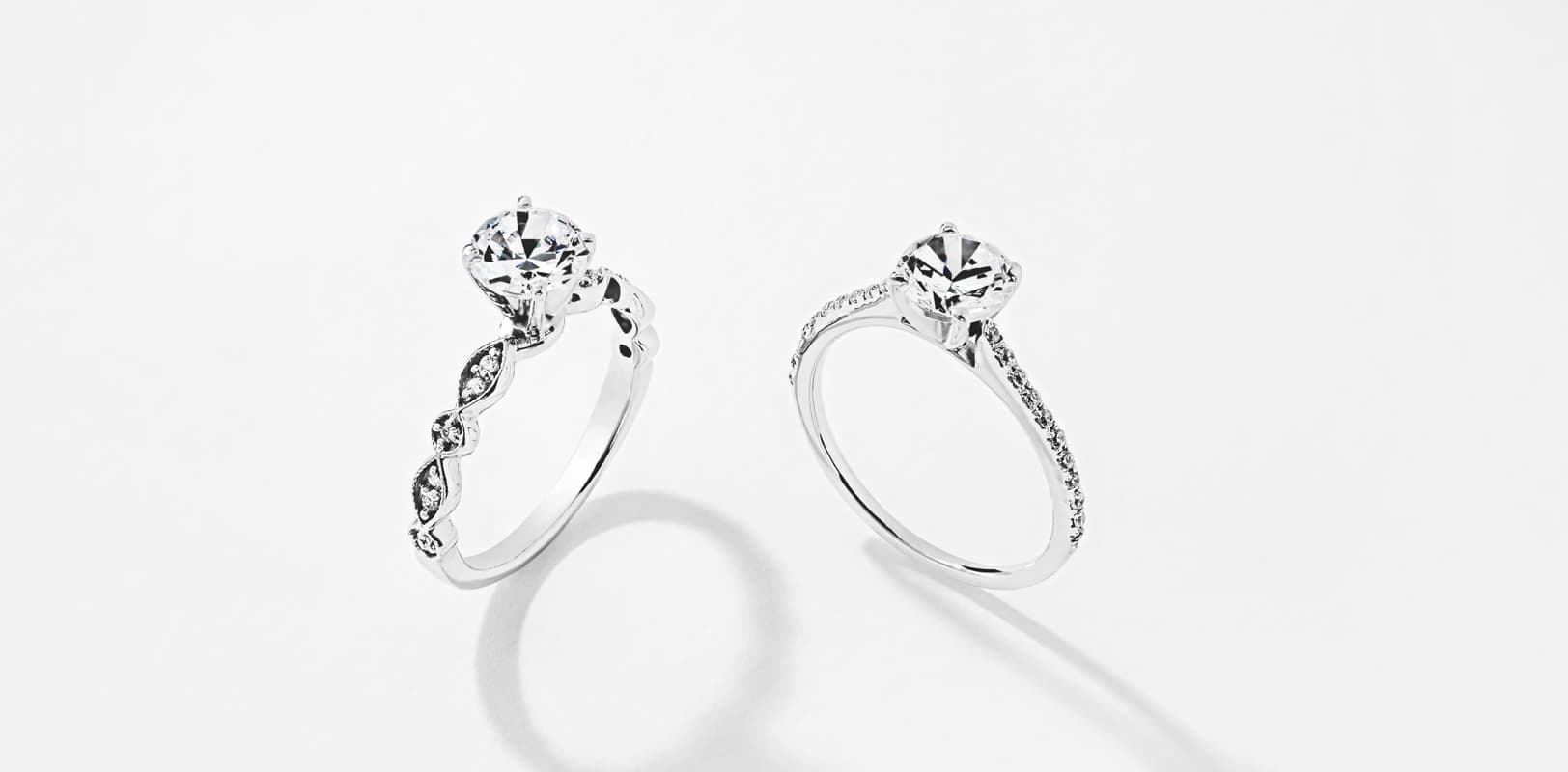 Stackable Engagement Rings