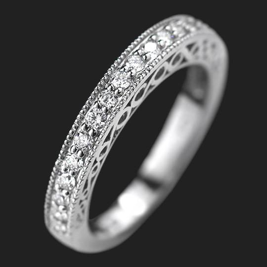 Ali Diamond Wedding Band