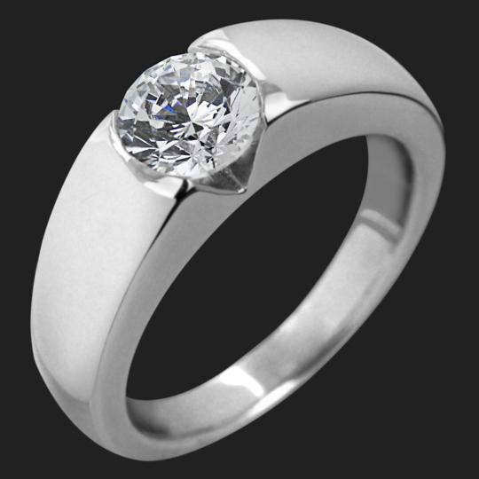 Amelie Solitaire Engagement Ring
