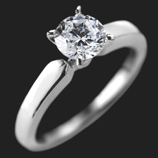 Cortney Solitaire Engagement Ring
